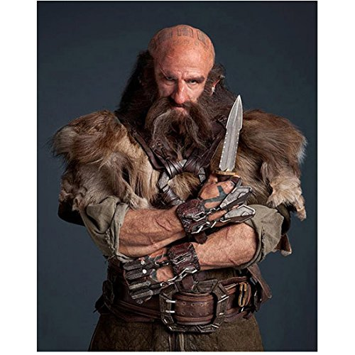 Graham McTavish as Dwalin arms crossed with daggers 8 x 10 Inch Photo
