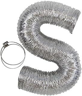 Conducto flexible para secadora de ropa, 10 pies por 4 pulga