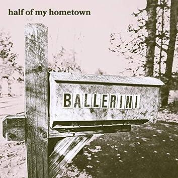 half of my hometown