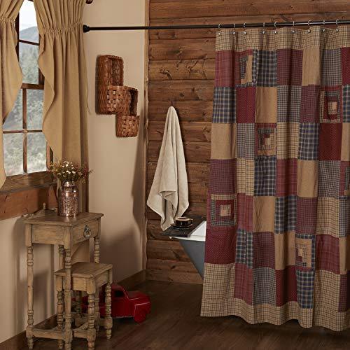 VHC Brands 7505 Millsboro Shower Curtain 72x72