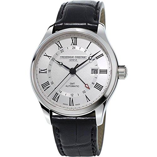 Frederique Constant Geneve CLASSICS AUTO GMT FC-350MC5B6 Reloj Automático para hombres Fabricado en Suiza