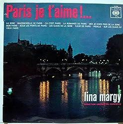 LINA MARGY PARIS JE T\'AIME vinyl record