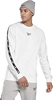 Reebok Men's Te Tape Crew Sweatshirt