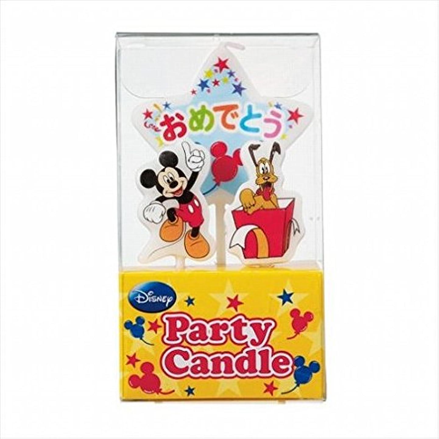しっかり誰もブローホールkameyama candle(カメヤマキャンドル) ディズニーパーティーキャンドル【ケーキ用キャンドル】 「 ミッキー 」(A3120010)