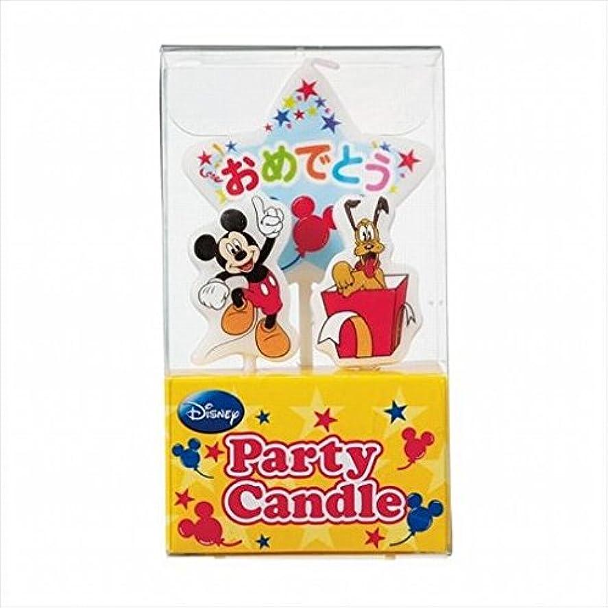 状態暫定の農場kameyama candle(カメヤマキャンドル) ディズニーパーティーキャンドル【ケーキ用キャンドル】 「 ミッキー 」(A3120010)