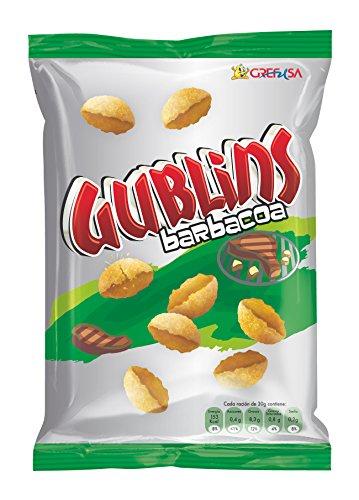 Grefusa - Gublins | Producto de Aperitivo Frito con Sabor a Barbacoa - 120 gr