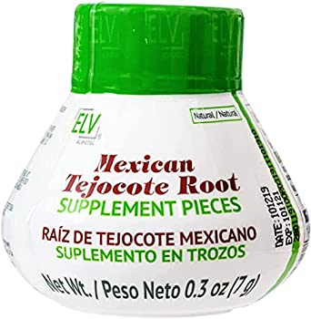 Nutraholics Original ELV Tejocote Root Treatment - Nueva Design - 1 Bottle  3 Month Treatment  - Most Popular All-Natural Weight Loss Supplement in Mexico