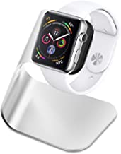 YMCCOOL S340 Designed Apple Watch Stand for Apple Watch Series 4 / Series 3 / Series 2 / Series 1 / 44mm / 42mm / 40mm / 38mm with Aluminum Body
