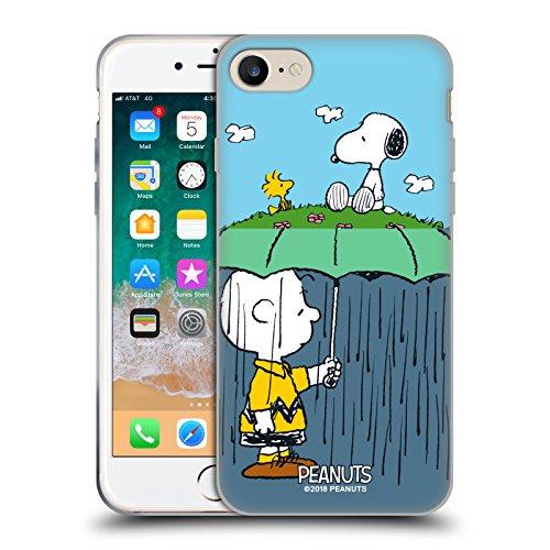 Head Case Designs Licenza Ufficiale Peanuts Charlie, Snoppy & Woodstock metà E Risate Cover in Morbido Gel Compatibile con Apple iPhone 7 / iPhone 8 / iPhone SE 2020