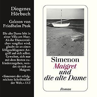 Maigret und die alte Dame Titelbild