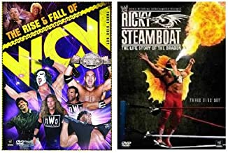 WWE Value Pack - The Rise & Fall of WCW / Ricky Steamboat-The Life Story of the Dragon
