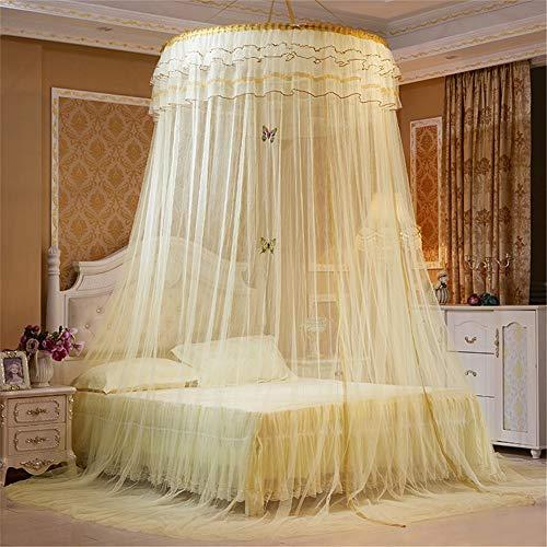 RMBCC muggennet voor op reis en thuis, extra groot voor tweepersoonsbed en eenpersoonsbed, muggennet insectennet bedhemel met fijnmazig