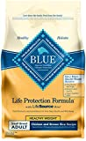 Blue Buffalo Life Protection Formula Healthy Weight Small Breed Dog Food – Natural Dry Dog Food for Adult Dogs – Chicken and Brown Rice – 6 lb. Bag