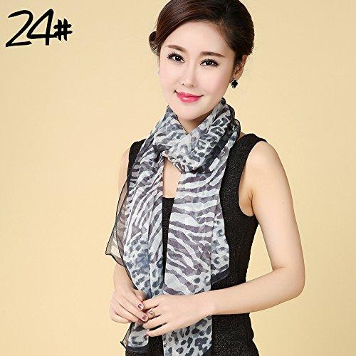 RENYZ.ZKHN Silk Scarf, Silk Scarf, Silk Scarf, Silk Shawl, Silk Shawl, 170 * 50,Twenty-Four