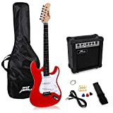 PylePro Full Size Electric Guitar Package w/ Amp, Guitar Bundle, Case & Accessories, Electric Guitar Bundle,...