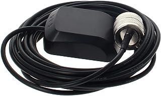 Othmro Antena activa GPS TNC macho conector de antena cable magnético 3 metros, 1 unidad