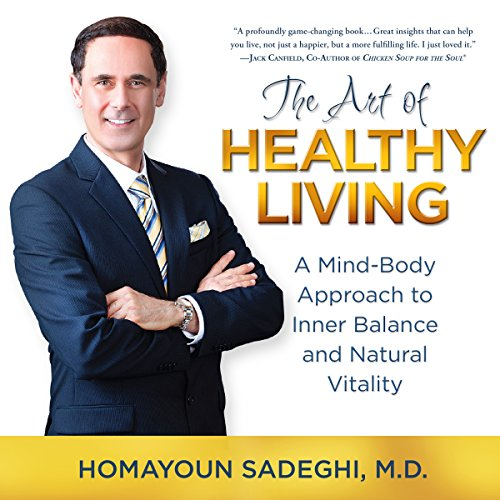 The Art of Healthy Living audiobook cover art
