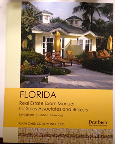 Florida Real Estate Exam Manual for Sales Associates and Brokers 36th Edition By Linda L. Crawford