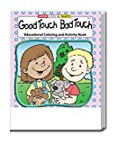 25-Pack - Good Touch Bad Touch - Coloring and Activity Books for Kids, Without Crayons - Educational & Inexpensive Gifts for Girls and Boys - School Supplies - Police Handouts - Games & Puzzles