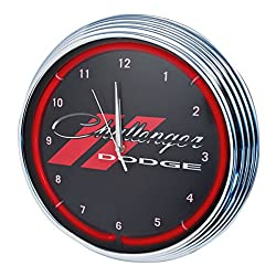 Neonetics for Challenger Red Neon Wall Clock, 15-Inch