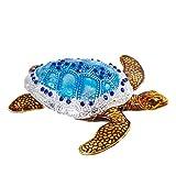 LIUYAWEI Pintado a Mano Bejeweled Cajas de Tortugas Marinas Joyas con bisagras Caja de Abalorios Titular de Anillo Colectivos Regalo Decoración de la Boda en casa, 3.5x3.5x1inch