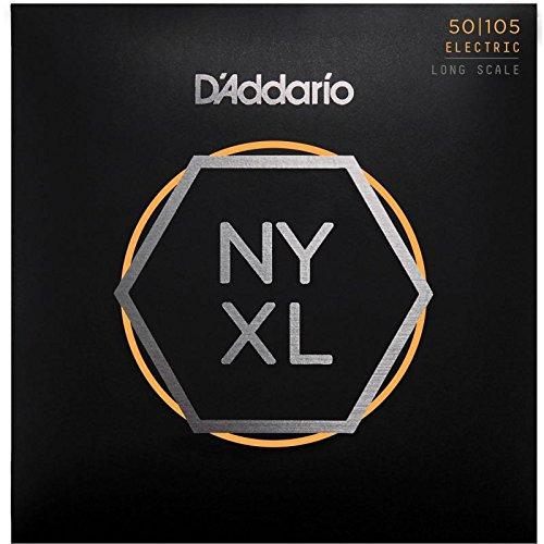 Juego cuerdas bajo eléctrico D'Addario NYXL Bass NYXL50105 Long Scale (050, 070, 085, 105)