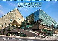 Darmstadt - Gaerten, Kunst, Architektur (Wandkalender 2022 DIN A2 quer): Kunstvolle Fotografien einer kunstvollen Stadt (Monatskalender, 14 Seiten )