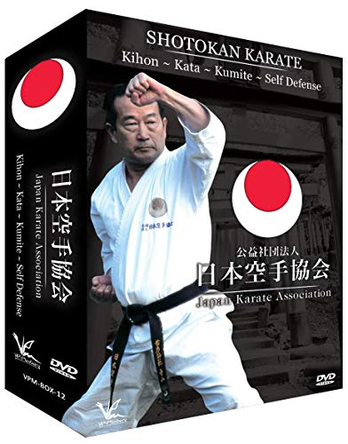 3 DVD Box Collection JKA Kihon, Kata, Kumite & Selbstverteidigung