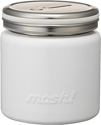 フードコンテナ 真空断熱 フードポット 0.3L ホワイト mosh! (モッシュ!) DMFP300WH