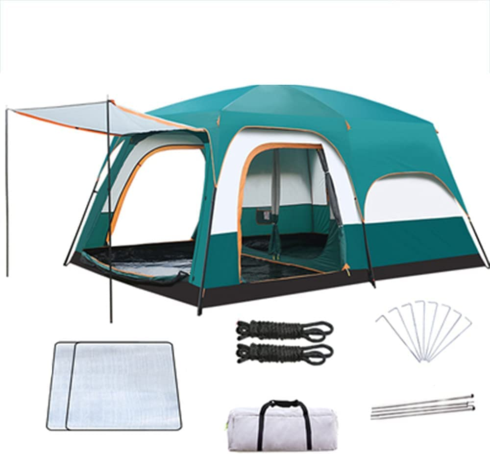 N B 4 Person Camping Tent 4 years warranty Large Outdoor Waterproof Family Bombing free shipping