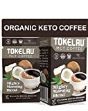 Tokelau Keto Coffee Packets with C8 MCT Oil Powder. Organic Keto Instant Coffee to Burn Fat for Fuel. Keto Coffee in Seconds to Fuel Your Day - 7 Packets