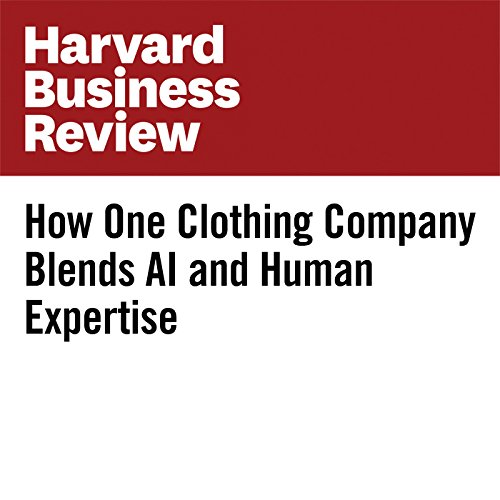 How One Clothing Company Blends AI and Human Expertise audiobook cover art