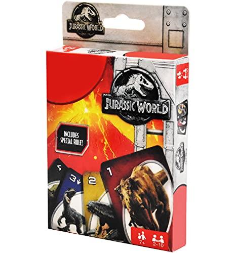 Miotsy Dinosaur Gioco di Carte per Bambini, Edizione Nuova per Bambini, Adatto per 2-4 Giocatori dai 3 Anni in su per Collezione di Giochi