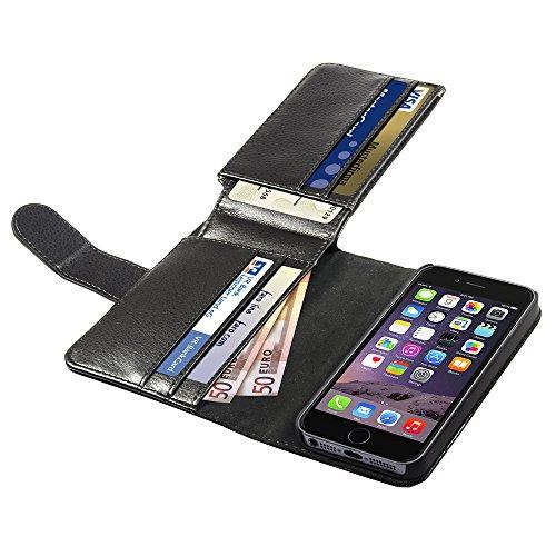Anco Premium Notebook Traveller Case Black per Apple iPhone 6
