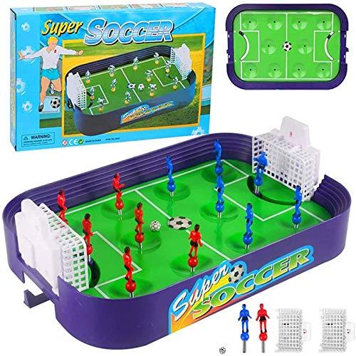 HHKX100822 Lernspielzeug FüR Kinder Fingerkampf WettbewerbsfäHiges Mini-FußBallfeld Eltern-Kind-Interaktion Auswurf Brettspiel Spielzeug