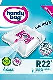 Handy Bag - R22 - 4 Sacs Aspirateurs, pour Aspirateurs Rowenta, Delonghi et...