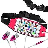 N4U Online® Fitness Sports Waistband Case & Handsfree For