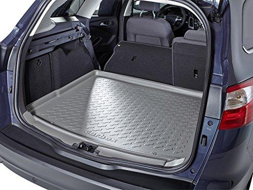 Kofferraumwanne Kofferraummatte Kofferraumschale grau geruchlos formstabil inklusive Multimatte Ladekantenschutz
