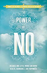 front cover of the power of no for help in being frugal