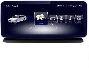Car Touch Screen, Octa 8-Core CPU 4+64G Blu-ray Car Radio GPS Navigation Bluetooth WiFi Head Unit Screen for Mercedes Benz CLS Class W218 2010-2015