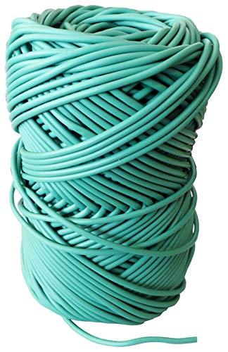 Riegolux 213239 Macarrón PVC 2´7 Bobina para Atar, Verde, 50