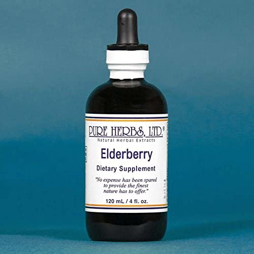 Elderberry - 4 OZ Max Cheap bargain 55% OFF Extracts Natural Herbal