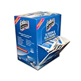 Endust for Electronics, Individually wrapped, 150 Anti-static wipes, Removes fingerprints, smudge and smear removal (14316) WHITE