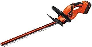 BLACK+DECKER LHT2436 40-Volt High Performance Cordless Hedge Trimmer, 24- (Renewed)