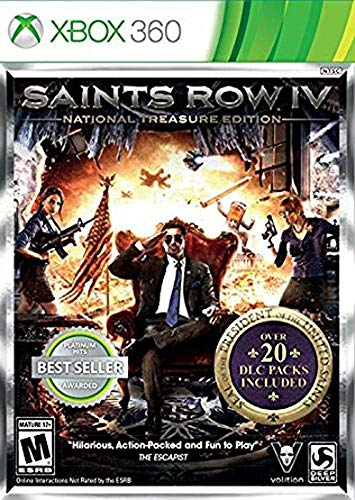 Saints Row Iv 4 National Treasure Midia Fisica - Xbox 360 usado