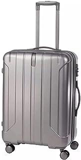 سامسونايت نير سبينر 57/20 exp حقيبة سفر صغيرة مصنوعة من البولي بروبلين باللون الفضي معتمدة من إدارة أمن المواصلات الأمريكي...
