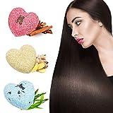 Shampoo Bar Haarseife,Natürliches Pflanzliches Haarpflege Anti-Haarausfall Anti Schuppen und...