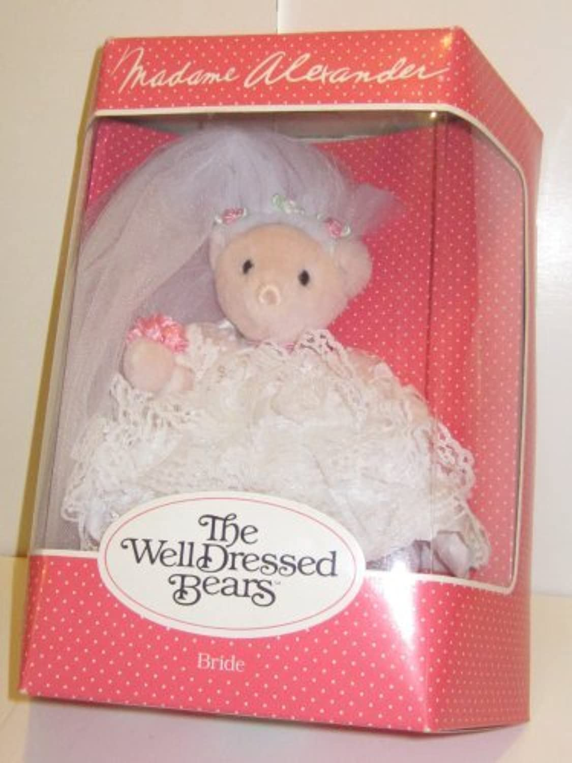 punto de venta barato Collectible Madame Alexander Well Dressed Bears Bride by The The The Well Dressed Bears  grandes ahorros