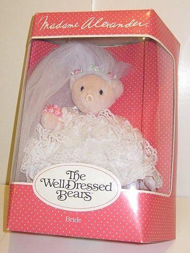 ¡no ser extrañado! Collectible Madame Madame Madame Alexander Well Dressed Bears Bride by The Well Dressed Bears  contador genuino