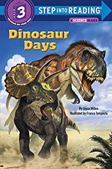 Dinosaur Days (Step into Reading) by [Joyce Milton, Franco Tempesta]